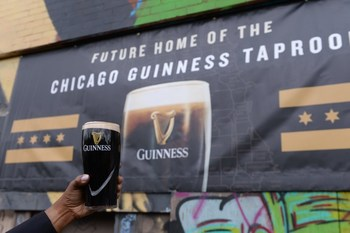 Guinness raises a toast to its planned Chicago taproom, which will open in 2023.