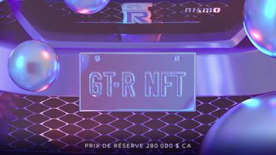 Nissan Canada met aux enchères un NFT GT-R unique avec un prix de réserve de 280 000 $ (Groupe CNW/Nissan Canada Inc.)