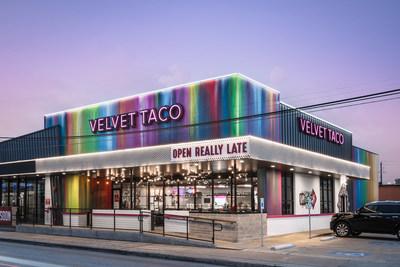 Velvet Taco Rice Village Exterior