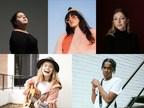 由SiriusXM赞助的加拿大SOCAN基金会青年歌曲作家奖的五位获奖者已经公布