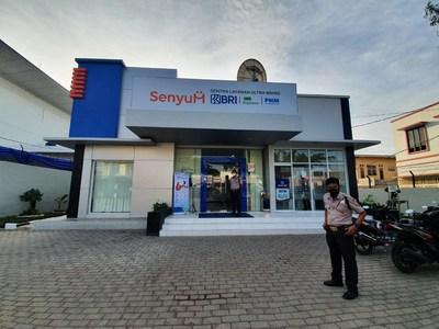 SENYUM, Ultra Micro Service Center  - BRI, Pegadaian, and PNM Co-location (PRNewsfoto/PT Bank Rakyat Indonesia Tbk (BRI))