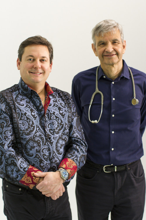 (L to R): Banty Inc. Co-Founders Scott Wilson and Dr. Richard Tytus