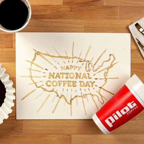 Celebrate National Coffee Day on September 29, 2021 with a free cup from Pilot Flying J Travel Centers.