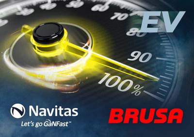 BRUSA goes GaNFast™