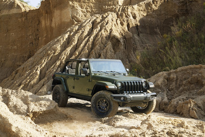 The 2022 Jeep® Wrangler Willys is now available with the Xtreme Recon Package with 35-inch tires straight from the factory, delivering best-in-class approach angle, departure angle, ground clearance and water fording capability.