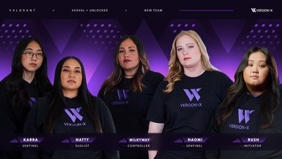 Version1 signs its first all-women's VALORANT team, VersionX