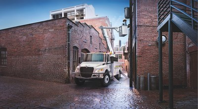 The newly designed International MV Series is the next generation of the brand's medium-duty truck lineup, designed for increased maneuverability, visibility and safety.