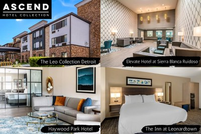 Ascend Hotel Collection recently added the following four properties: The Leo Collection Detroit, Elevate Hotel at Sierra Blanca Ruidoso, Haywood Park Hotel and The Inn at Leonardtown.