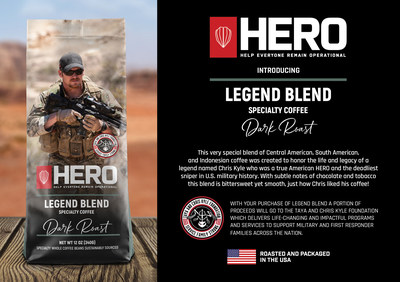 Legend Blend Specialty Coffee - HERO Help Everyone Remain Operational
