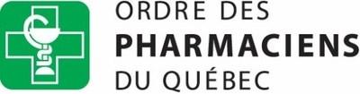 Logo de L'Ordre des pharmaciens du Québec (Groupe CNW/Ordre des pharmaciens du Québec)