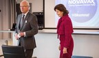 Novavax välkomnar kung Carl XVI Gustaf och drottning Silvia vid deras besök i Uppsala