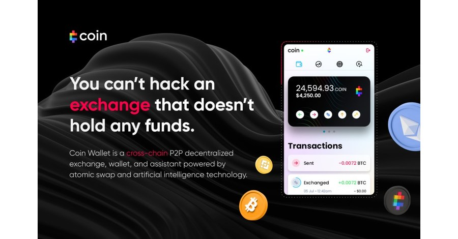 NEW YORK, Sept. 24, 2021 /PRNewswire/ -- Coin, a US-based FinTech startup founded by Microsoft alumni, has launched its premier product intended to disrupt cryptocurrency exchanges and wallets by providing mainstream consumers and crypto enthusiasts with the …
