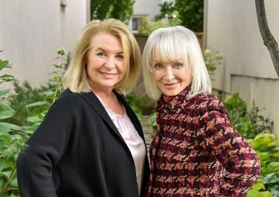 Judy Lewis LM and Deborah Weinstein (Groupe CNW/Société canadienne des relations publiques)