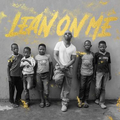 """Lean on Me"" single artwork."