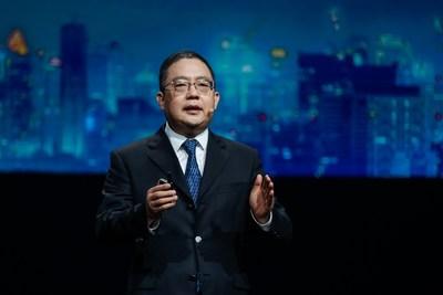 El Sr. Peng Zhongyang, miembro de la junta directiva de Huawei, presidente de Enterprise Business Groupp