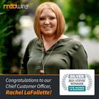 Madwire® Chief Customer Officer, Rachel LaFollette, Wins Silver...