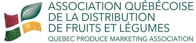 Logo de l'Association québécoise de la distribution de fruits et légumes (Groupe CNW/Association québécoise de la distribution de fruits et légumes)