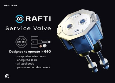 RAFTI Service Valve is designed for satellites with a mass up to several tons. It is a fully mechanical valve system with triple-seals, intended for 15 years operation in LEO and GEO and hundreds of fueling cycles. Read our spec sheet at orbitfab.com/raftib2