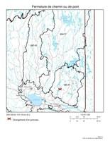 Changement d'un ponceau (Groupe CNW/Ministère des Forêts, de la Faune et des Parcs)