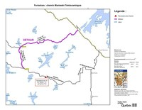 Fermeture : chemin Maniwaki-Témiscamingue (Groupe CNW/Ministère des Forêts, de la Faune et des Parcs)