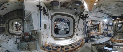 Voyageurs stellaires : la vie en orbite. Crédit : Felix & Paul Studios (Groupe CNW/Espace pour la vie)