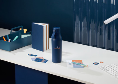 The new MOO Water Bottle - Keep things simple or make a splash with your very own design.