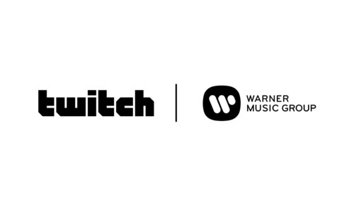Twitch and WMG logos