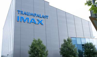 An image of the new IMAX theater at the Traumpalast Multiplex in Germany