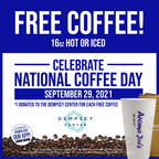 Aroma Joe's Celebrates National Coffee Day With FREE Coffee And Donation To The Dempsey Center