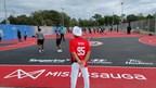 超级球迷Nav Bhatia基金会在米西索加启动四个新篮球场