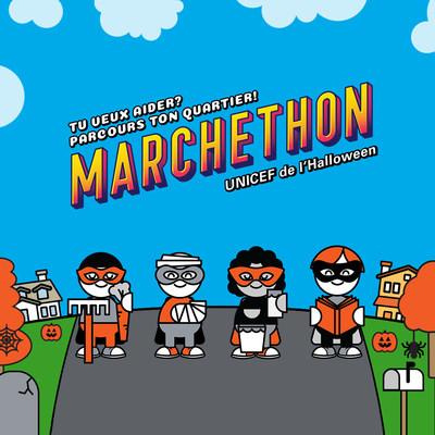Le Marchethon de l'Halloween d'UNICEF Canada est de retour. (Groupe CNW/Canadian Unicef Committee)