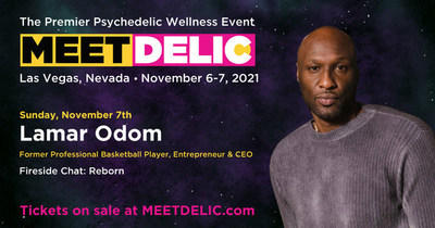 NBA Superstar Lamar Odom to appear at Meet Delic (CNW Group/Delic Holdings Inc.)