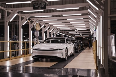 Lucid expects reservation holders of Lucid Air Dream Edition models will begin receiving their vehicles in late October, with customer deliveries ramping up thereafter. Grand Touring, Touring, and Air Pure model deliveries are expected to follow. Lucid has thus far received more than 13,000 reservations for Lucid Air and increased the planned total production quantity of the Dream Edition to 520 vehicles.