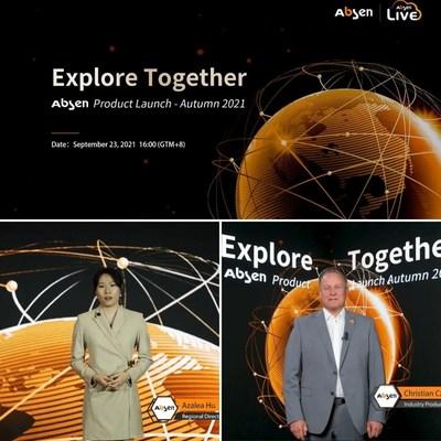 Em 23 de setembro, o lançamento de produtos de outono de 2021 da Absen foi realizado on-line por meio de transmissão ao vivo, e foram lançadas as excepcionais telas de Micro LED de nova geração, soluções de estúdio de cinema virtual e três produtos inovadores para clientes globais.