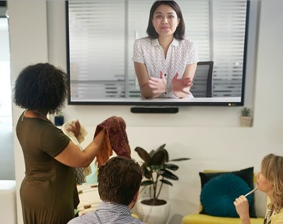 Hybrid workers embrace anytime working and say office culture has 'changed forever', but concerns over discrimination, career progression, and noise weigh on employees' minds.