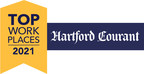 Sun Life receives 2021 Top Workplaces award from the Hartford...