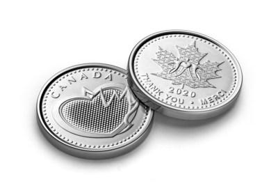 La médaille de reconnaissance de la Monnaie royale canadienne (Groupe CNW/Monnaie royale canadienne)