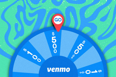 College students can enter the #VenmoU Cash Drop by spinning the wheel for a chance to win instant cash prizes and one $10,000 grand prize.