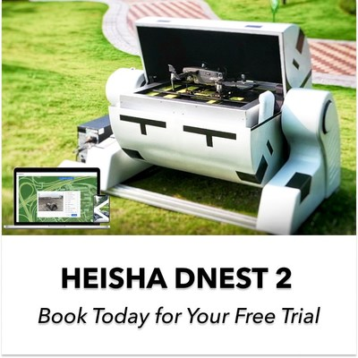 Le HEISHA DNEST2 est la solution de drone en boîte de deuxième génération. Le DNEST2 est compatible avec les drones DJI et les drones Autel, Parrot, Skydio. (PRNewsfoto/HEISHA TECH)