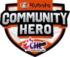 加拿大久保田和加拿大冰球联盟发布了2021年年度社区英雄竞赛的提名