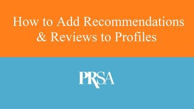 Recommendations on CommunicationsMatch