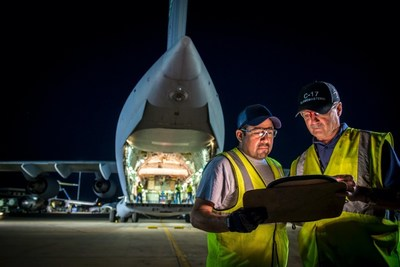Boeing is employing digital tools and analytics to optimize operations, increase availability, and lower sustainment costs on platforms like the C-17 Globemaster III.