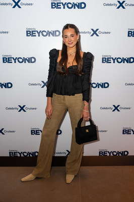 Danielle Bernstein attends a launch event with Chef Daniel Boulud and designer Nate Berkus to reveal their new collaborations on Celebrity Cruises' newest ship, Celebrity Beyond, Monday, Sept. 27, 2021, in New York.  Chef Daniel Boulud has created his first signature restaurant at sea, Le Voyage by Daniel Boulud, and Nate Berkus has designed a new multi-level, outdoor internationally-inspired bar, Sunset Bar.  (Photo by Diane Bondareff/Invision for Celebrity Cruises/AP Images)