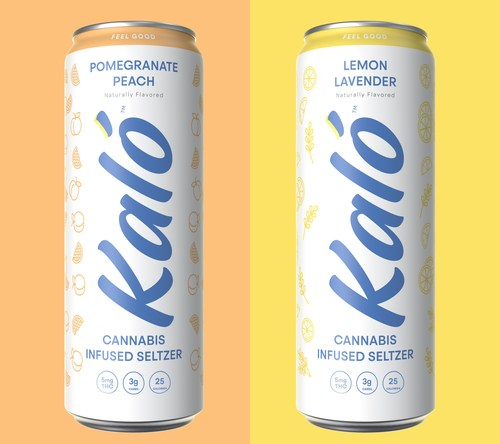 Kaló THC Seltzer is now available in Maine.