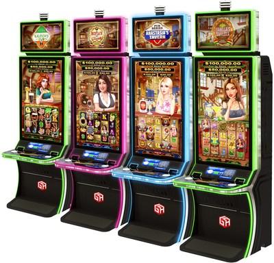 Gaming Arts New Pub™ Series at G2E (PRNewsfoto/Gaming Arts, LLC)