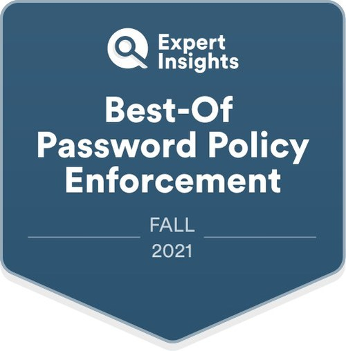 Expert Insights Announces Fall Best-Of Cybersecurity Awards: nFront Security Awarded Best-Of Password Policy Enforcement Software