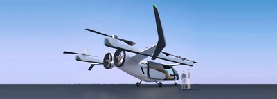 Honda eVTOL (electric vertical take-off and landing) leverages the company's electrification technologies for its gas turbine hybrid power unit.