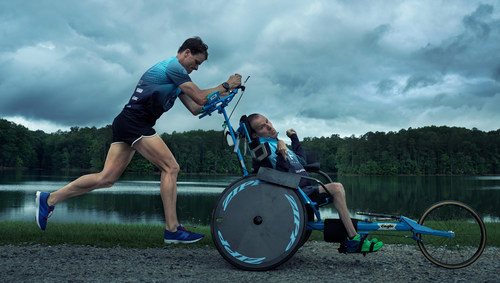 ©Annie Leibovitz. From Hyundai Journeys photographed by Annie Leibovitz. Atlanta-based 10x Iron Man finisher, triathlon trainer and Santa Fe owner Brent Pease, who co-founded the Kyle Pease Foundation with his brother Kyle to help the disabled find courage, resilience and normalcy through athletic achievement.