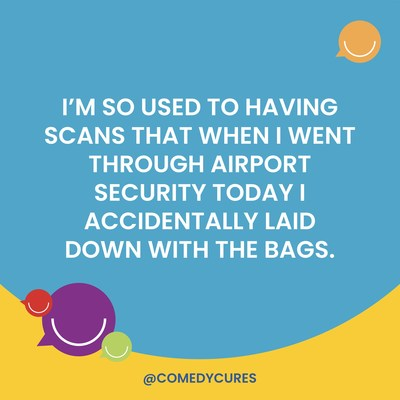"""Radiation Humor from """"Can We Laugh At Cancer?"""" A 31-Day 'Tumor Humor' Challenge"""