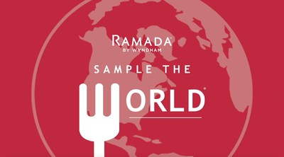 Ramada's new video series, Sample the World with Ramada, takes viewers on a globally-inspired culinary journey throughout North America.